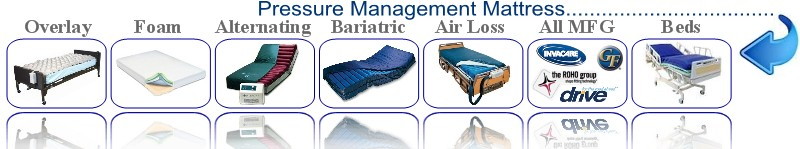 overlay foam alternating bariatric low air loss all mfg beds all