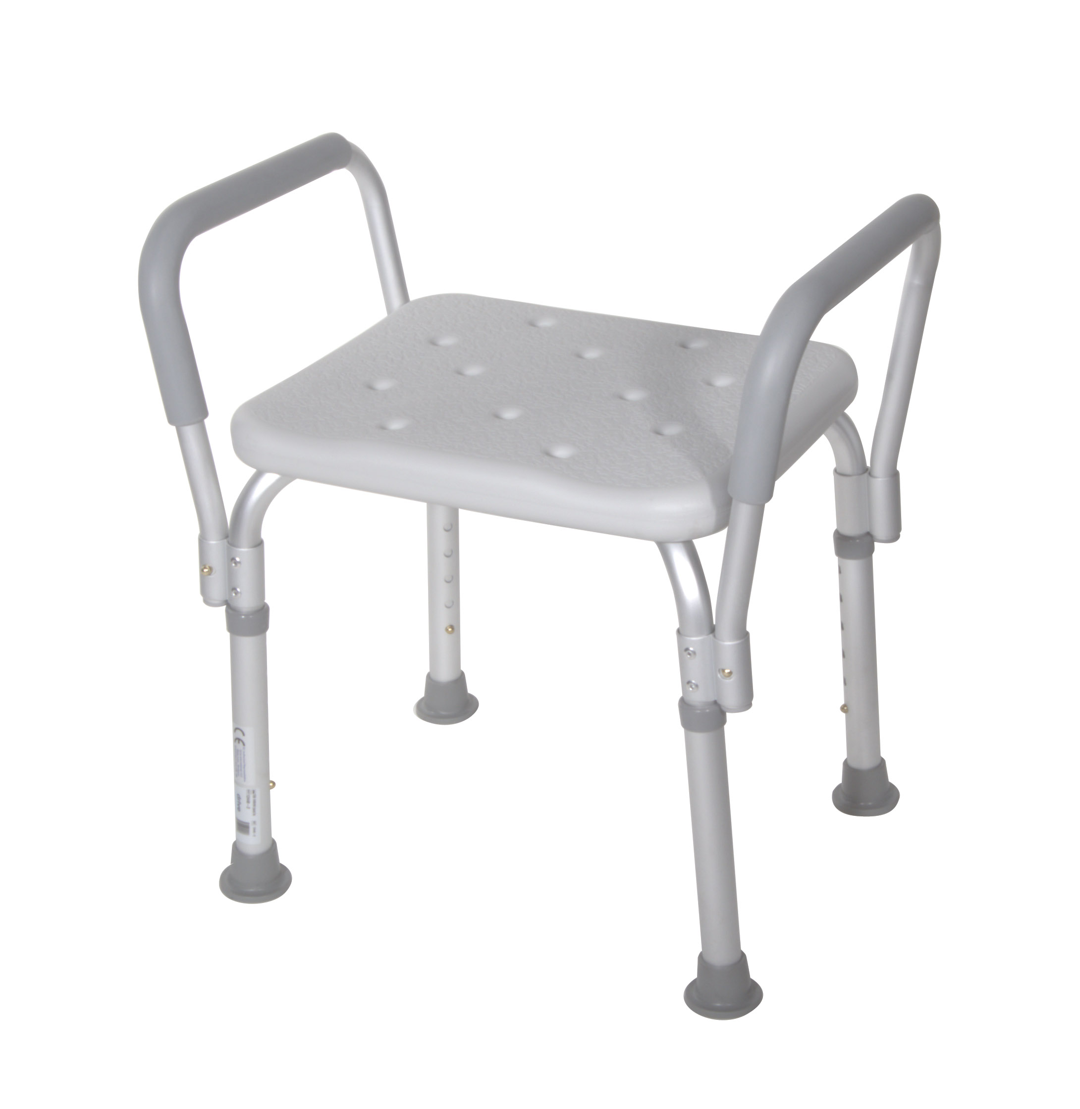 Aluminum frame is lightweight, durable and corrosion proof.