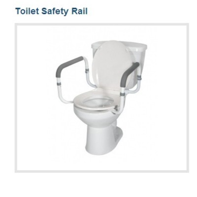 Rtl12087 Drive Toilet Safety Frame Commode Safety Frame