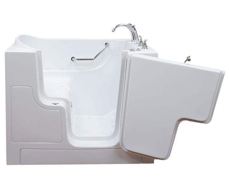 Care series 3052 l soaker walk in tub for Walk in tub water capacity