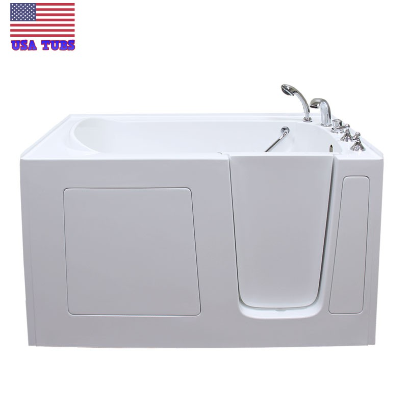 Care series 3060 soaker walk in tub for Walk in tub water capacity