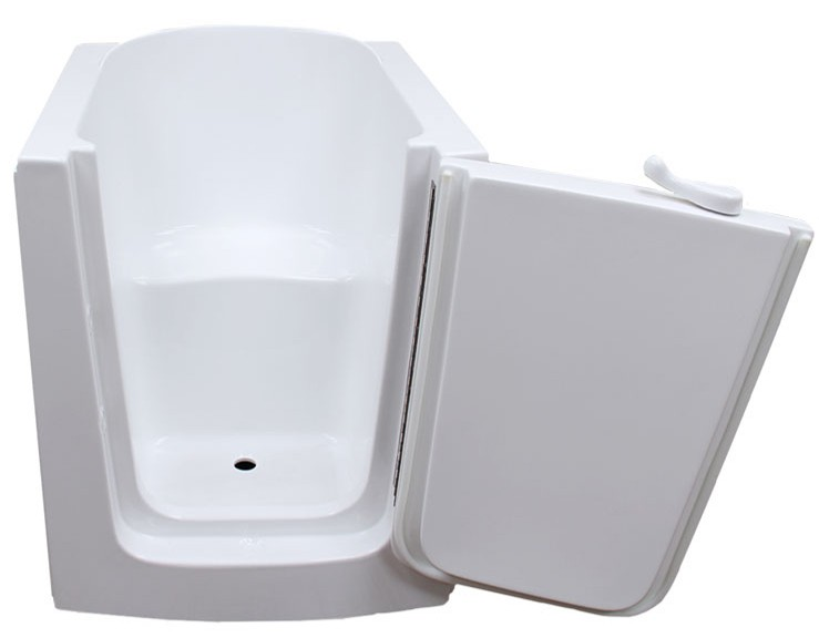 American walk in tub 3138 l for Walk in tub water capacity