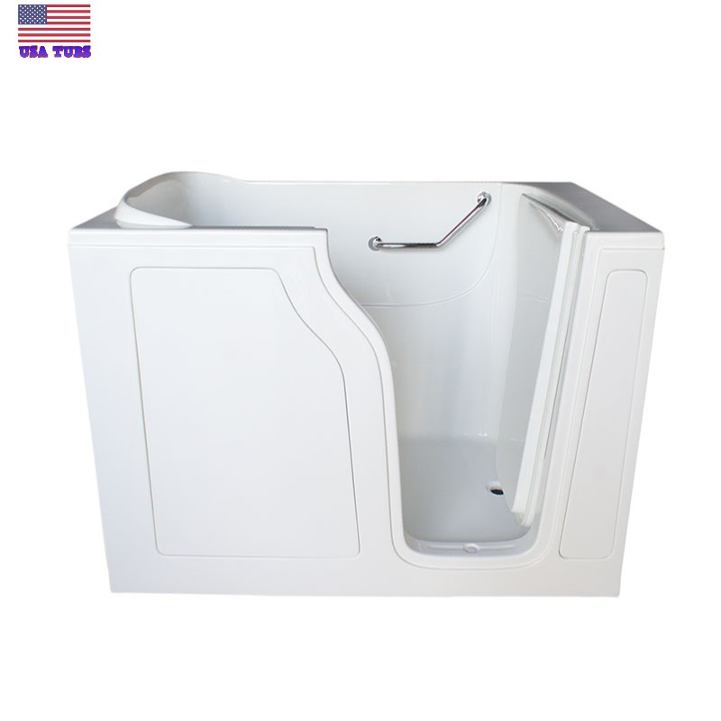 Care series s 2848 soaker walk in tub for Walk in tub water capacity