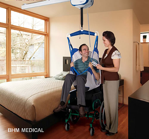 BHM Medical Voyager Duo Ceiling Lift