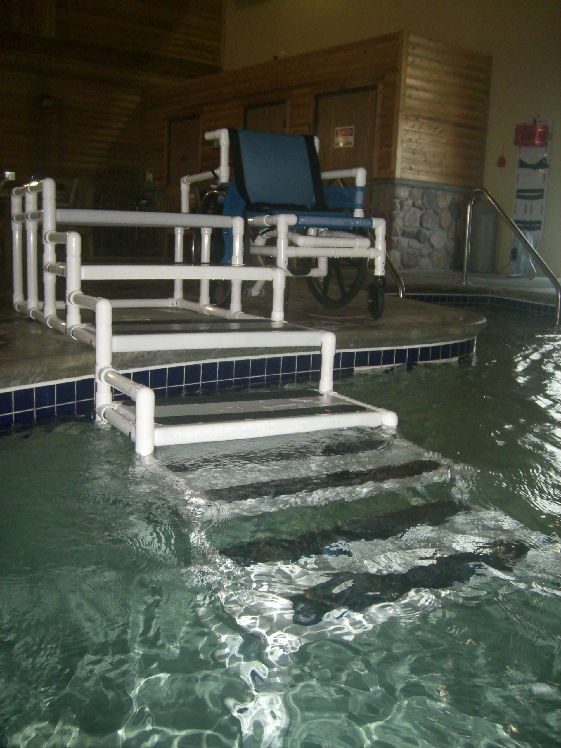 Rehab Systems Llc Aquatrek Ada Transfer System