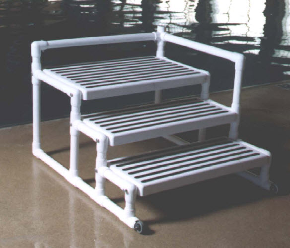 Rehab systems llc aquatrek transfer platform - Above ground pool steps for handicap ...