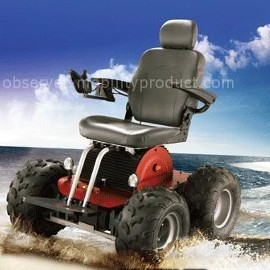The viking 4 wheel drive vehicle for All terrain motorized wheelchairs