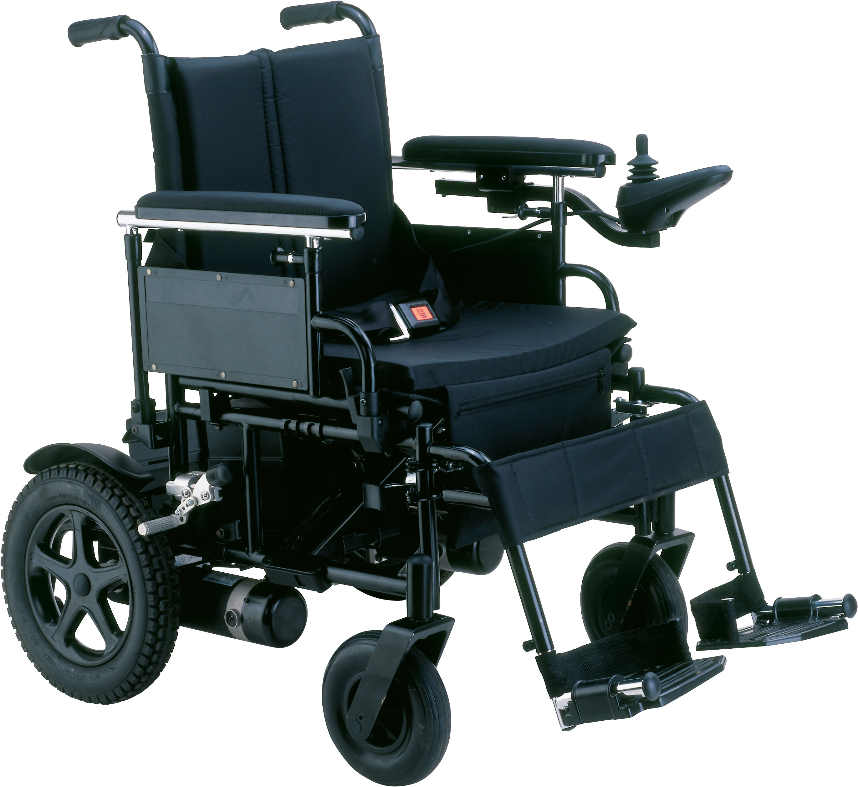 Cirrus Plus Hd Heavy Duty Folding Power Wheelchair Rear