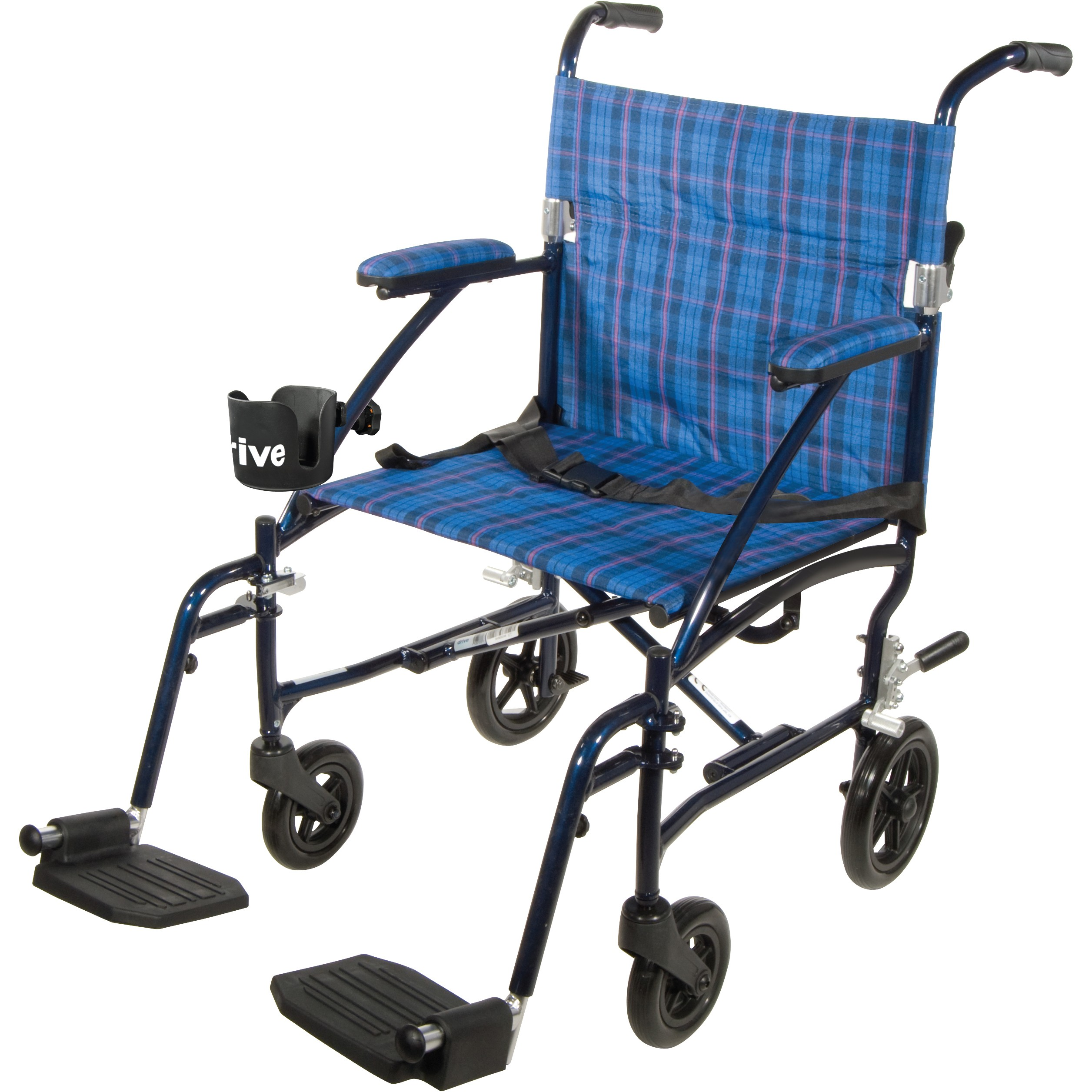 Drive Medical Fly Lite Aluminum Transport Chair