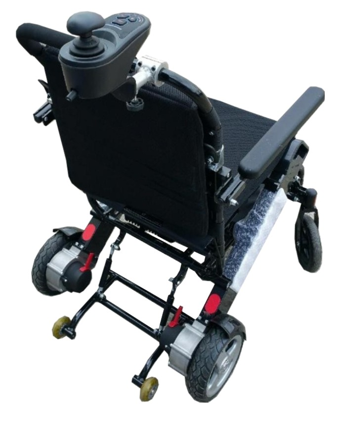 Attendant Controlled Electric Power Wheelchair