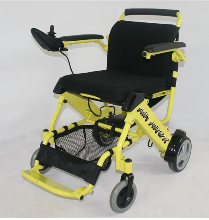 The Air Hawk Portable Lightweight Power Wheelchair: portable motorized wheelchair