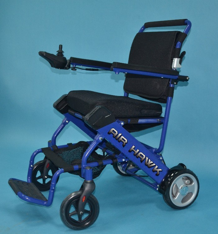 Air Hawk Lightweight Electric Wheelchair Open Box