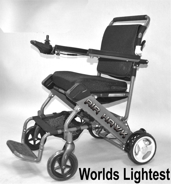 Cool The Air Hawk Portable Lightweight Power Wheelchair Onthecornerstone Fun Painted Chair Ideas Images Onthecornerstoneorg