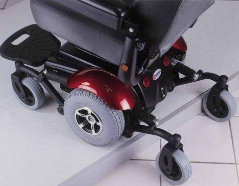 Merits P326a Vision Sport Mid Wheel Drive Power Wheelchair