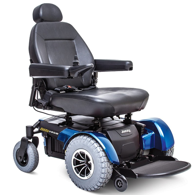Traction Wheelchair Lift : Pride jazzy power wheelchair