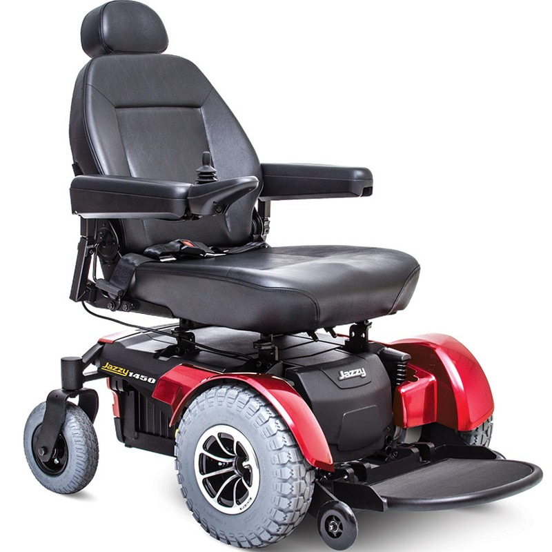 Pride Jazzy 1450 Power Wheelchair