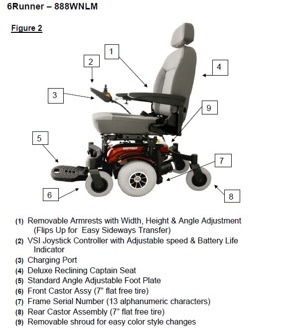 Awesome Shoprider 6Runner 10 Deluxe Power Chair Theyellowbook Wood Chair Design Ideas Theyellowbookinfo