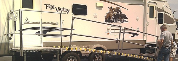Roll A Ramp Rv And Travel Trailer Ramps