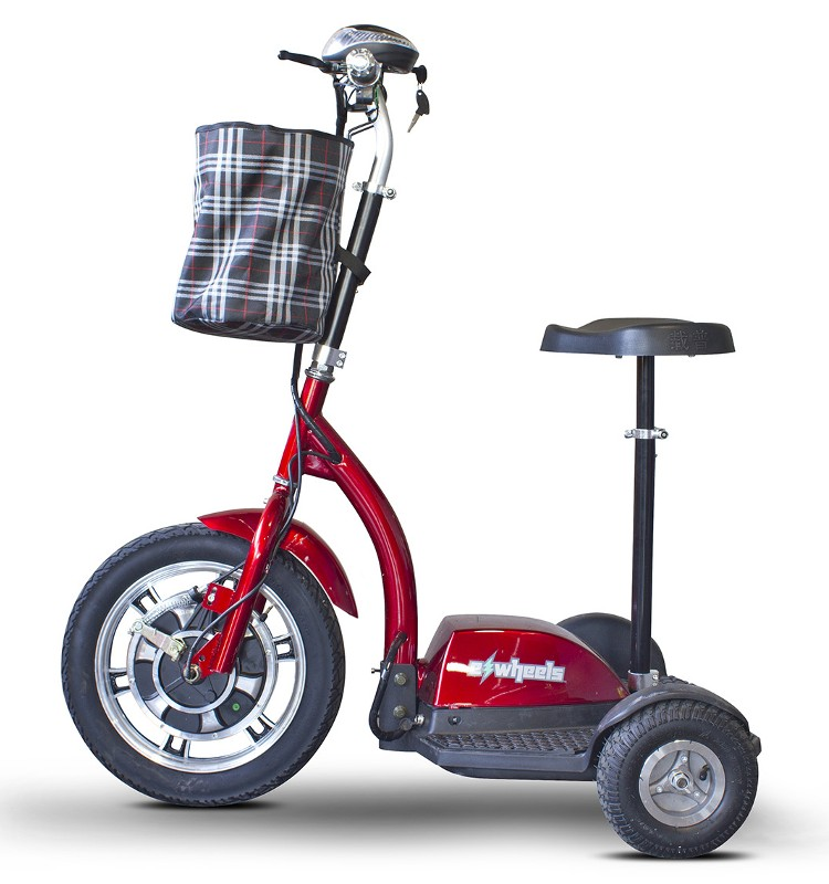 Ew 18 stand ride scooter for Stand on scooters with motor