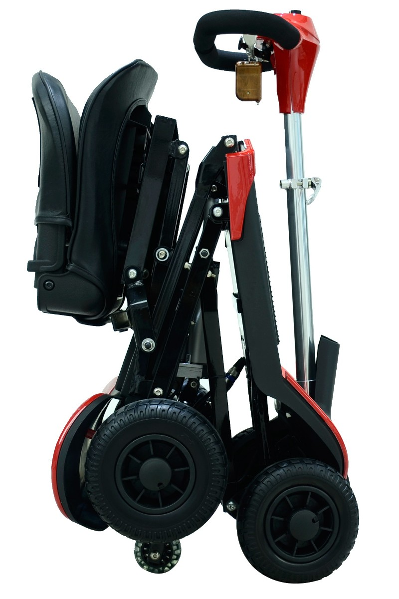 Scooter Ramps For Cars >> Optimus Automatic Folding Mobility Scooter