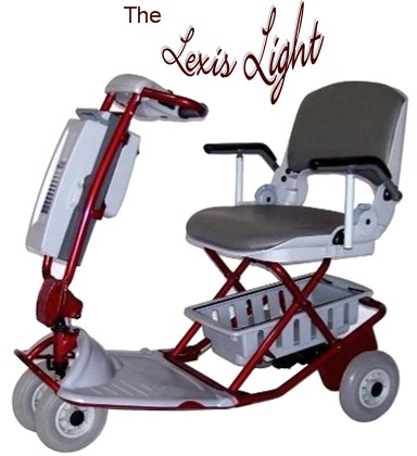 The Lexis Light Foldable Mobility Scooter Is The Worlds